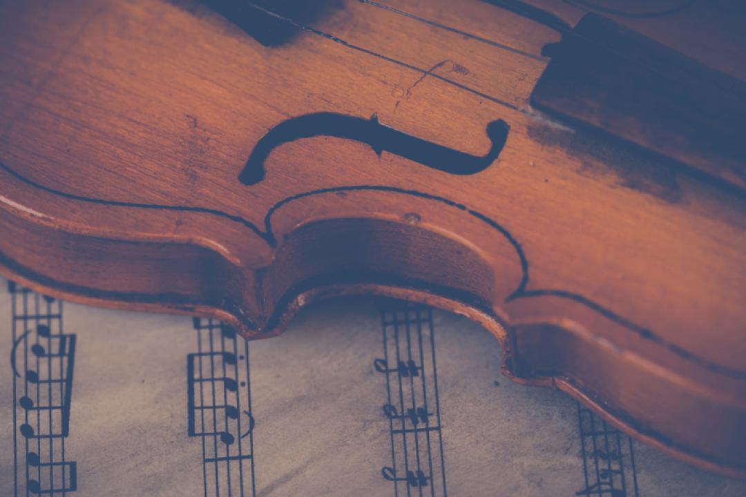 Violino e violino elettrico